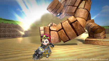 Dragon Quest Builders si mostra in queste immagini