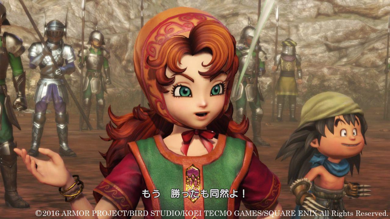 Dragon Quest Heroes 2: una battaglia tra Atlas e Drakulard nel nuovo video gameplay