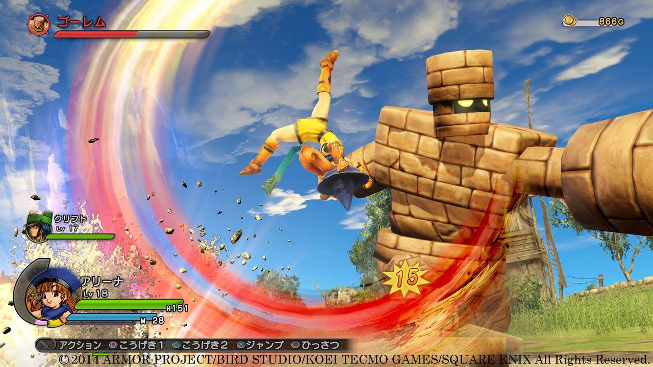 Dragon Quest Heroes: il gameplay sarà mostrato in streaming il 21 settembre