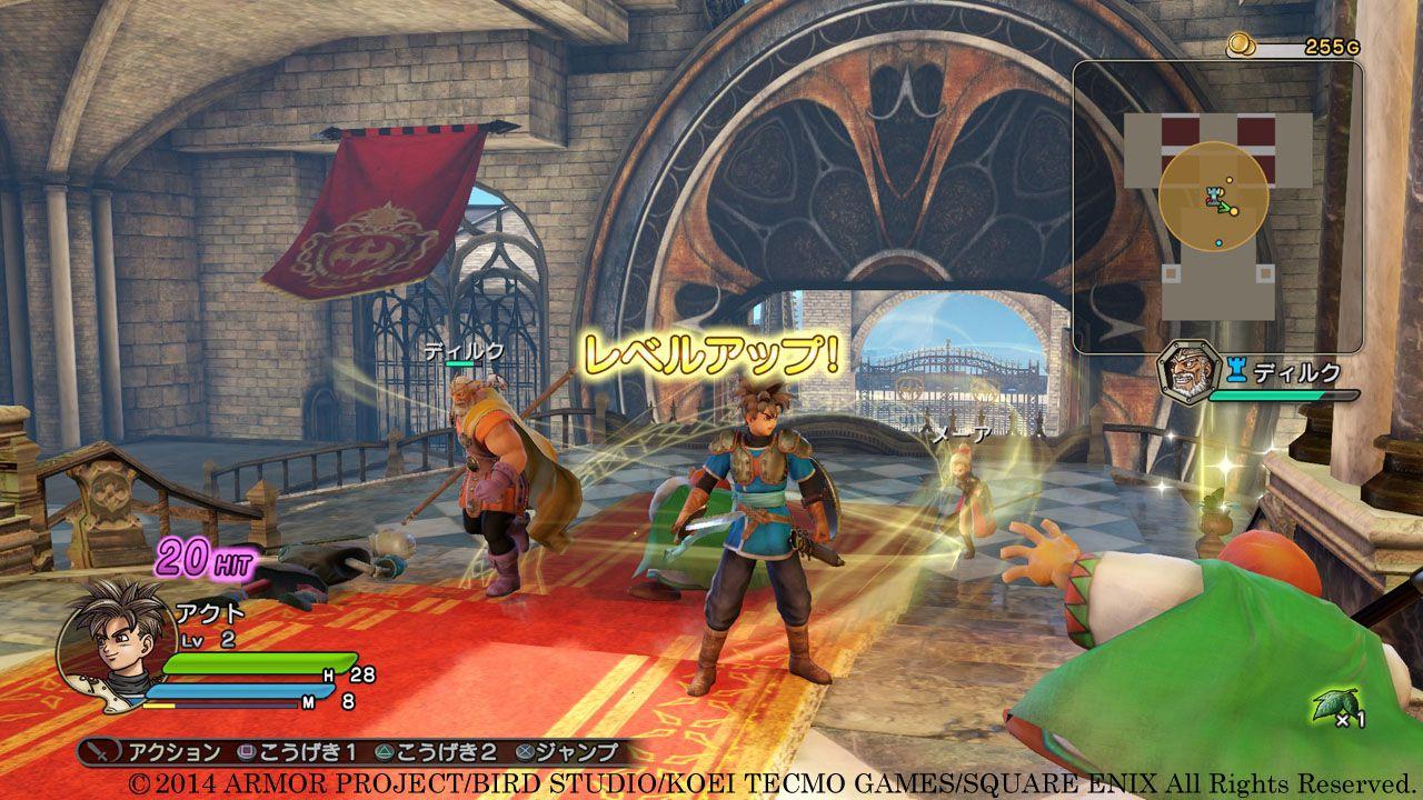 Dragon Quest Heroes: immagini del gioco e della PlayStation 4 Metal Slime