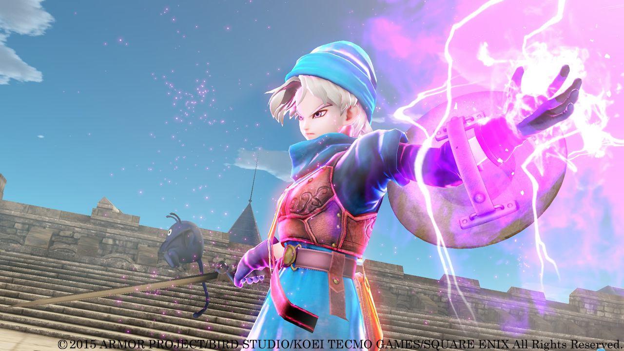 Dragon Quest: Heroes, Square Enix pubblica tre screenshots del gioco