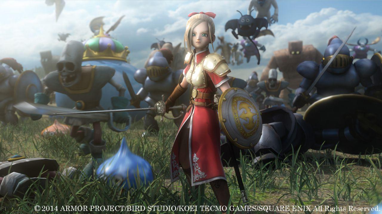 Dragon Quest Heroes uscirà il 26 febbraio in Giappone