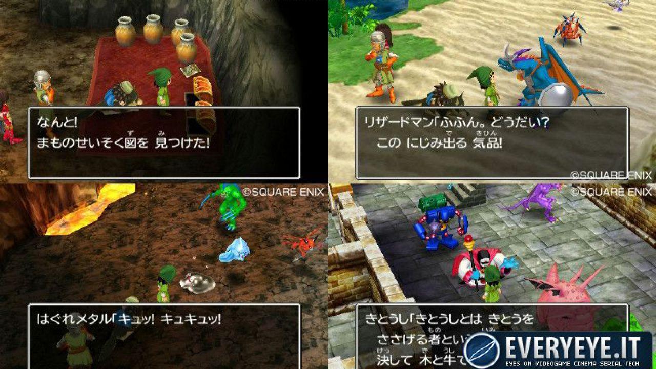 Dragon Quest VII 3DS: i giocatori potranno scambiarsi online le Streetpass Stone