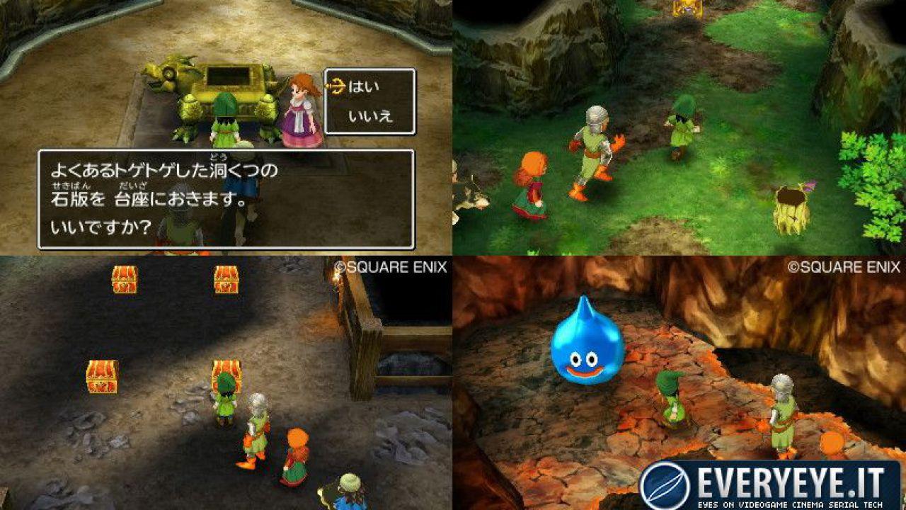 Dragon Quest VII 3DS in nuove immagini