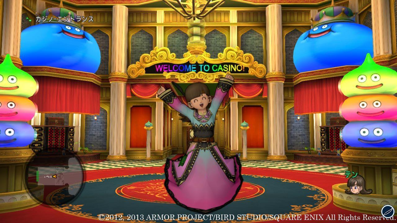 Dragon Quest X: immagini e dettagli sul Casinò