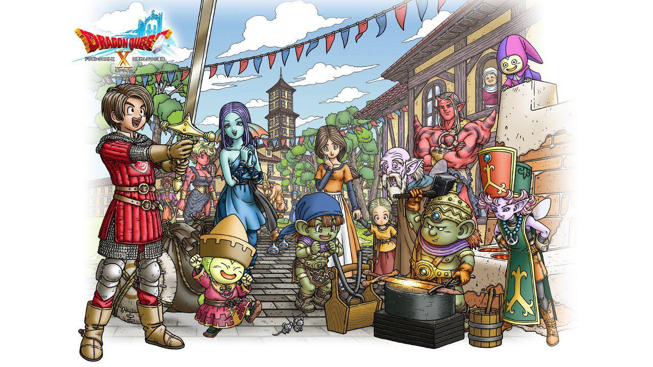 Dragon Quest X: i primi dettagli sulla storia