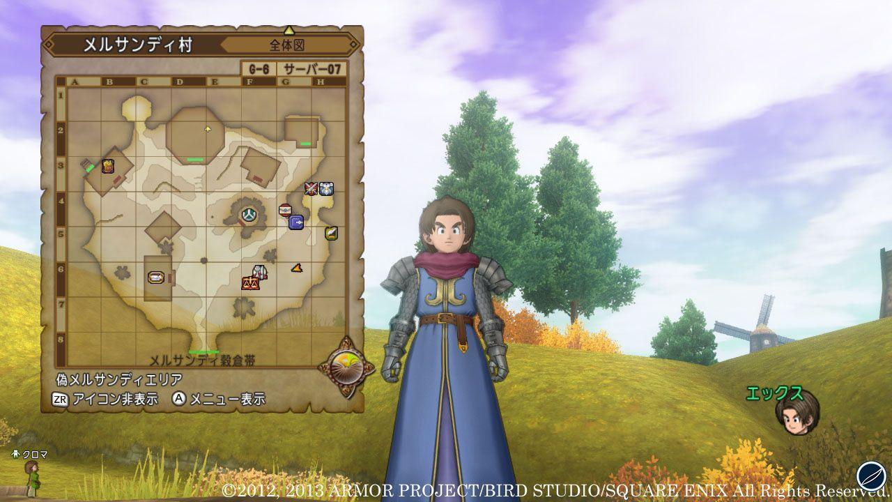 Dragon Quest X: sessione di gioco su Nintendo Wii U al Tokyo Game Show 2012