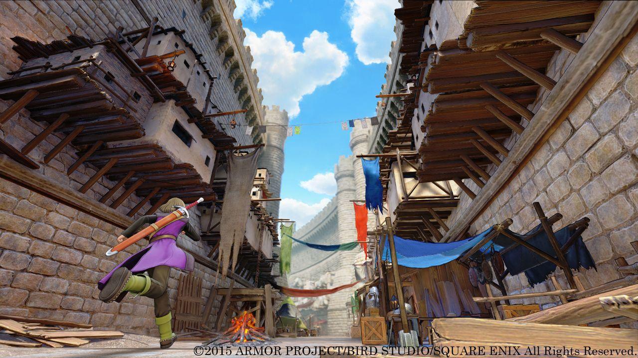 Dragon Quest XI si mostra nei primi scatti