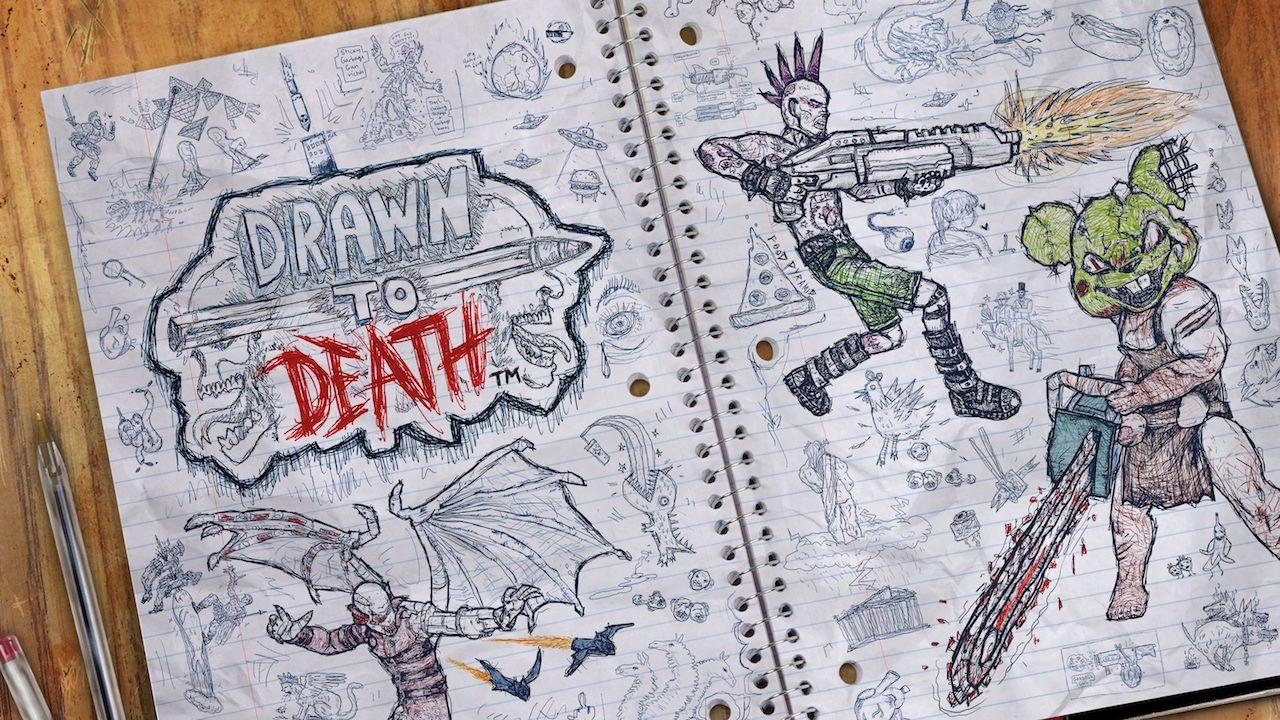 Drawn to Death per PlayStation 4 torna a mostrasi con un nuovo trailer