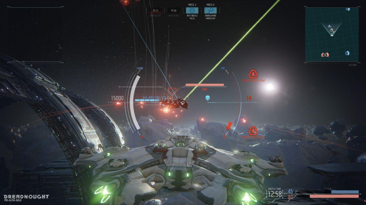 Dreadnought sarà Free to Play - grande importanza al bilanciamento ed al divertimento