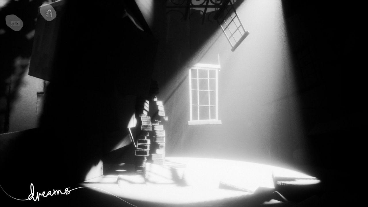 Dreams si mostra in un nuovo screen in bianco e nero
