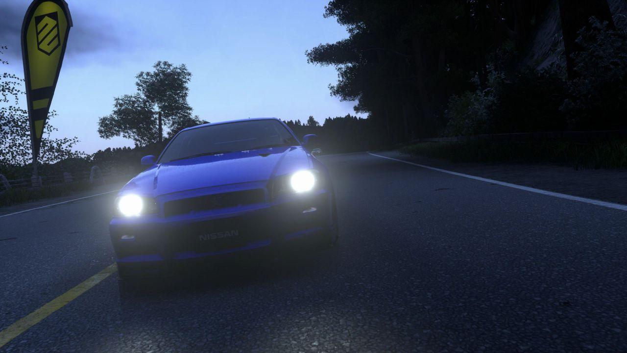 Driveclub: ecco la Nissan Skyline GT-R R34 V-Spec II e la Honda Civic Type-R in azione