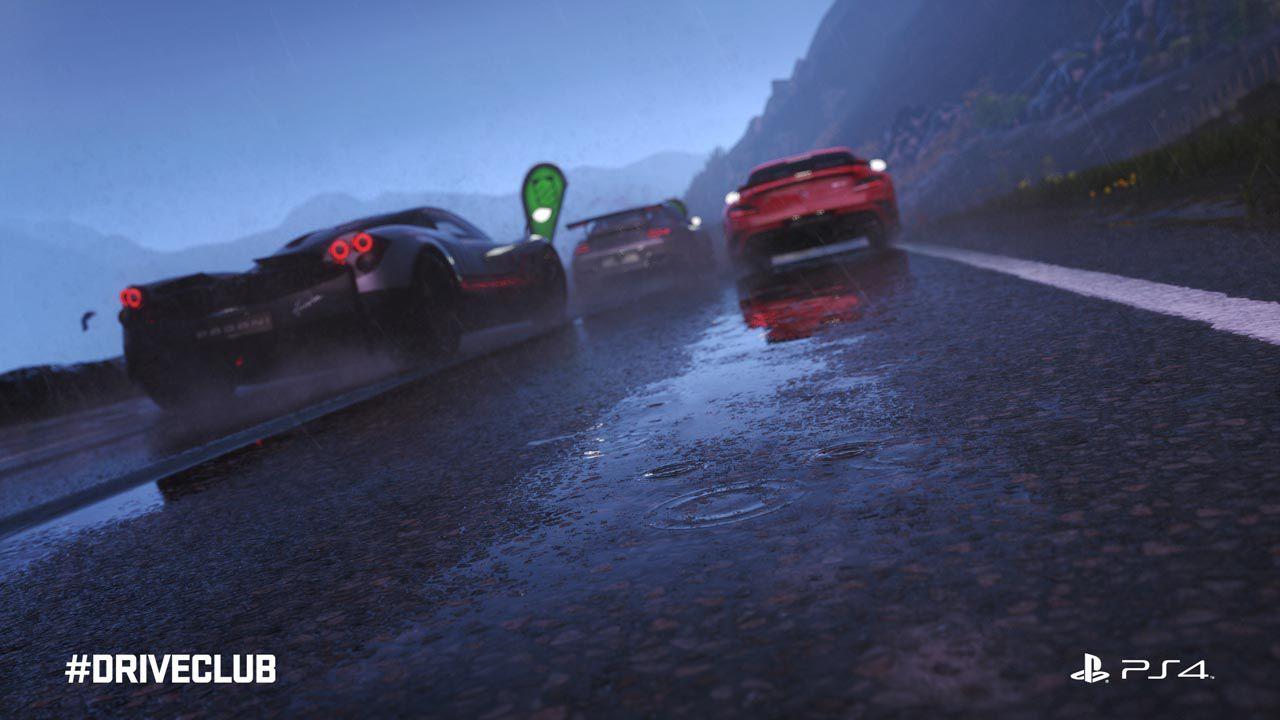 DriveClub: Gli effetti meteo sono in dirittura d'arrivo