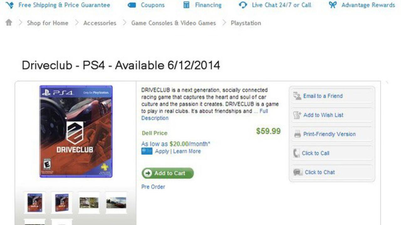 Driveclub: un video mostra i contenuti della PlayStation Plus Edition