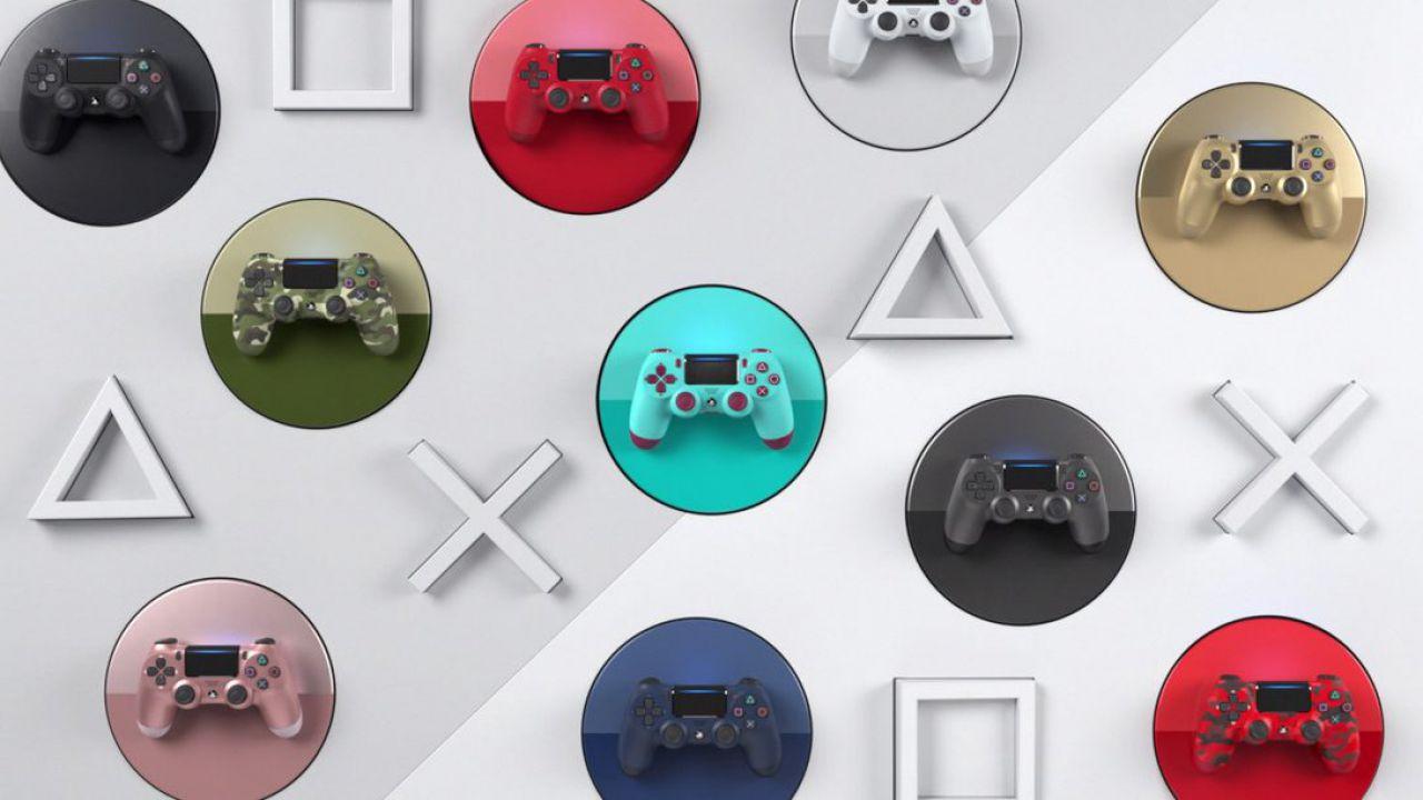 DualShock 4: Sony rilancia alcuni colori e i design più famosi del controller per PS4