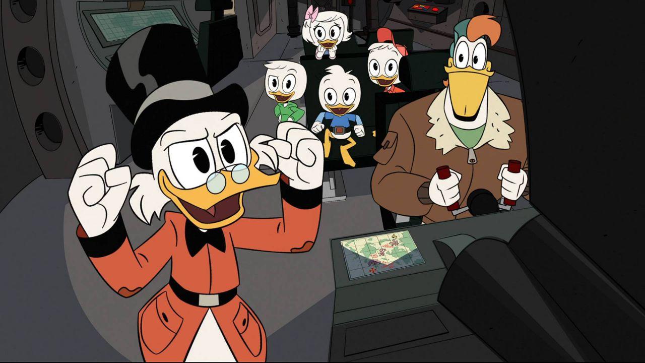 DuckTales, nel finale della serie reboot c'è un riferimento a Gargoyles