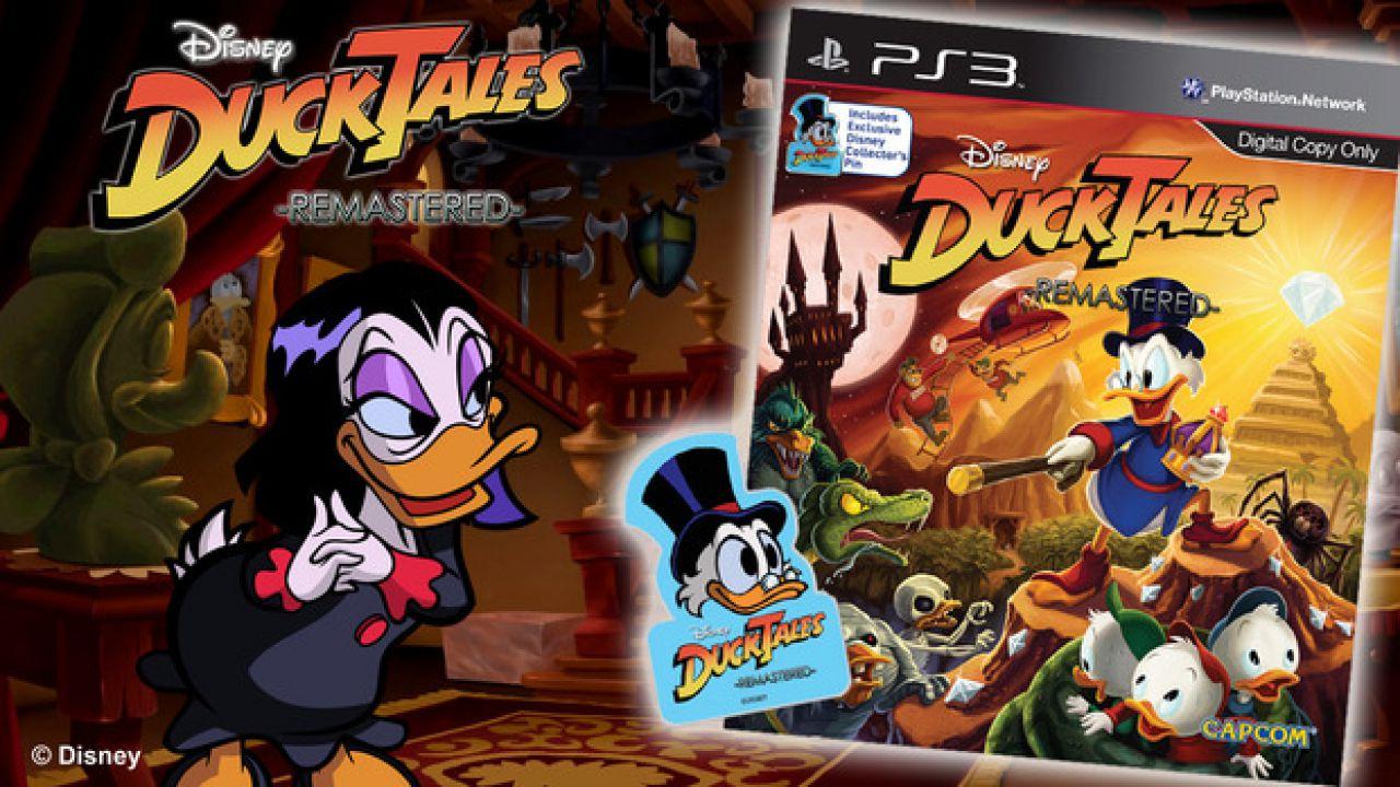 DuckTales Remastered: uno sguardo alla versione retail