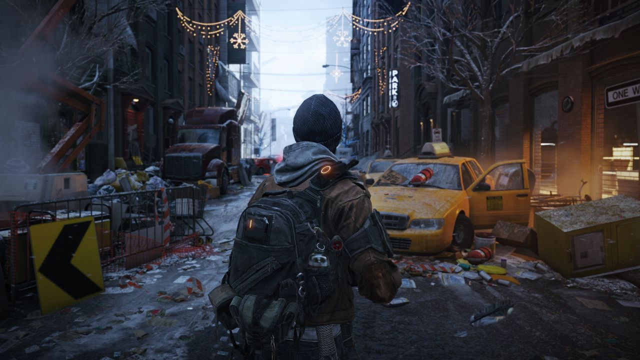 Due video off-screen per Tom Clancy's The Division