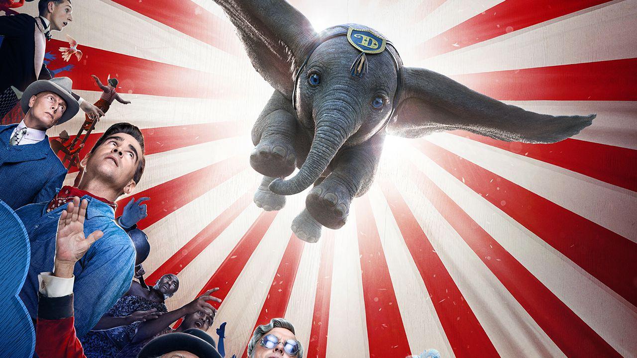 Dumbo non vola troppo in alto al box-office statunitense durante il suo primo weekend