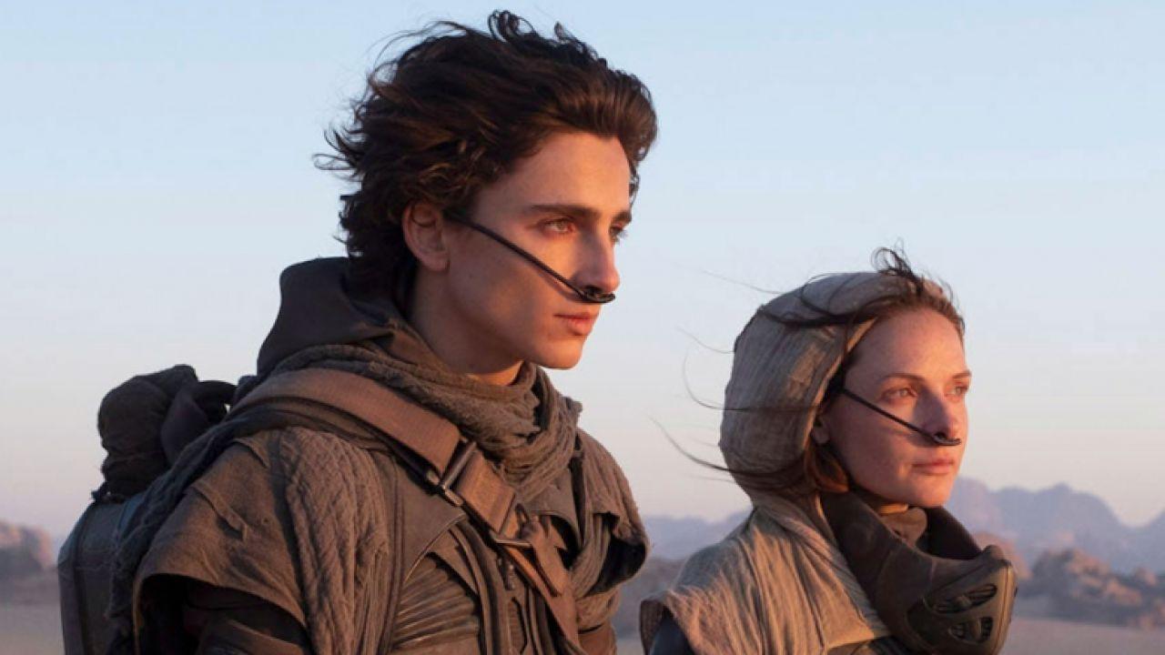 Dune, il film di Villeneuve si mostra nel primo spot TV