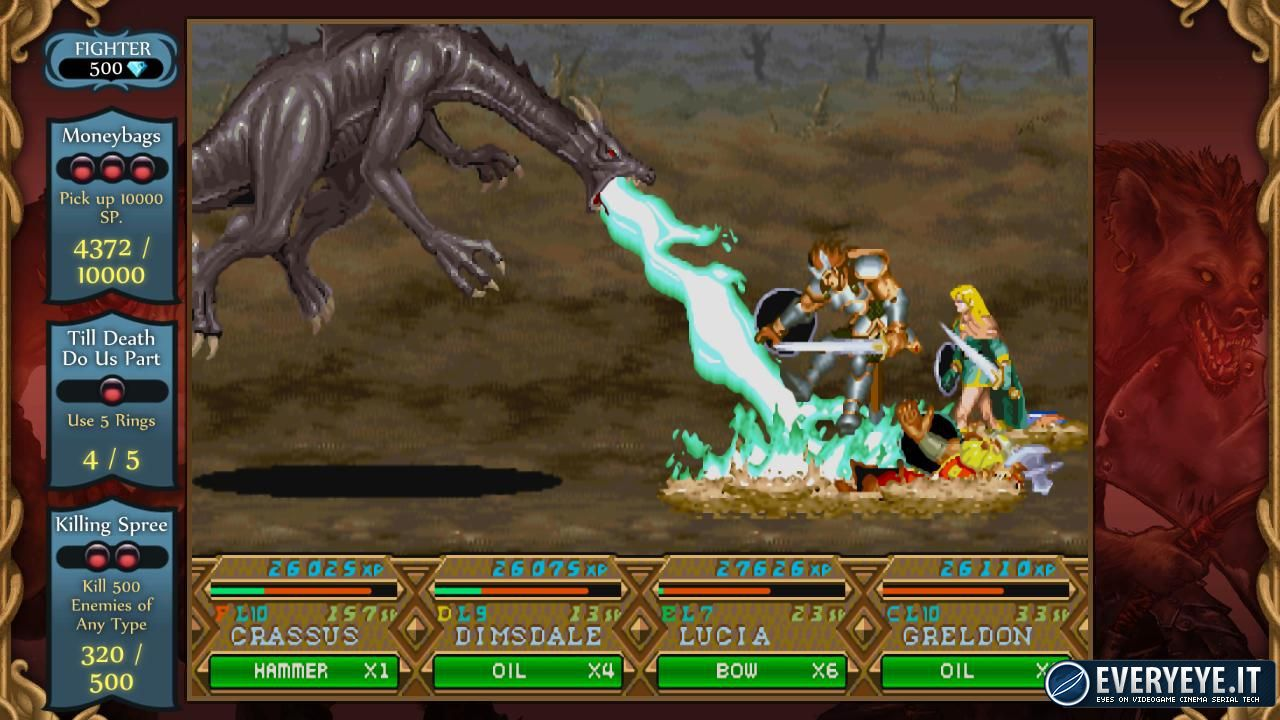 Dungeons & Dragons: Chronicles of Mystara - la versione Wii U come un incubo per Capcom