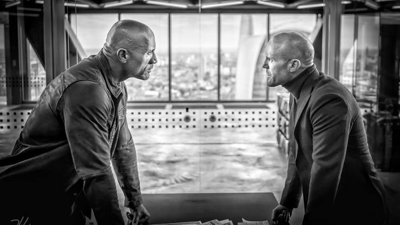 Dwayne Johnson e Jason Statham nel nuovo spot di Hobbs & Shaw