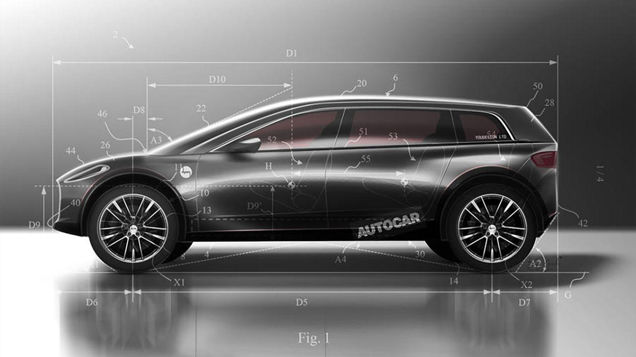 Dyson contro Tesla: il crossover elettrico pronto a sfidare Model X e Model Y
