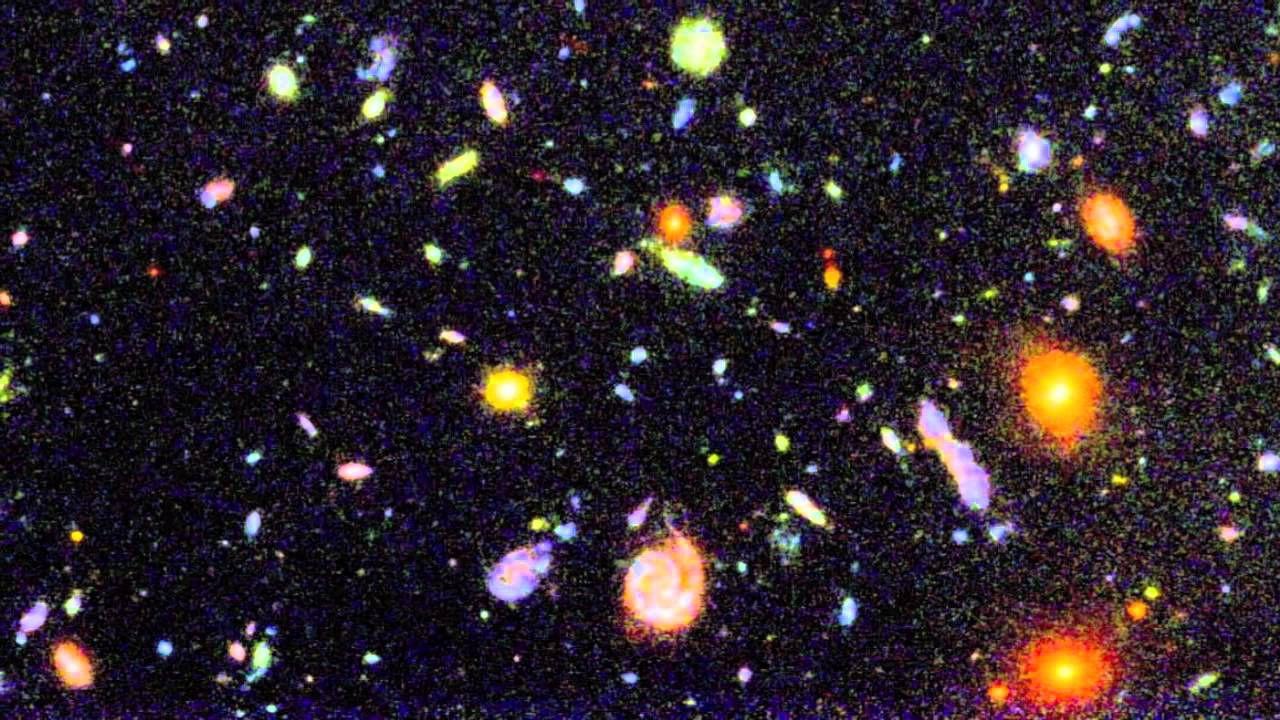 È stato appena scoperto un super ammasso di galassie con trilioni di masse solari
