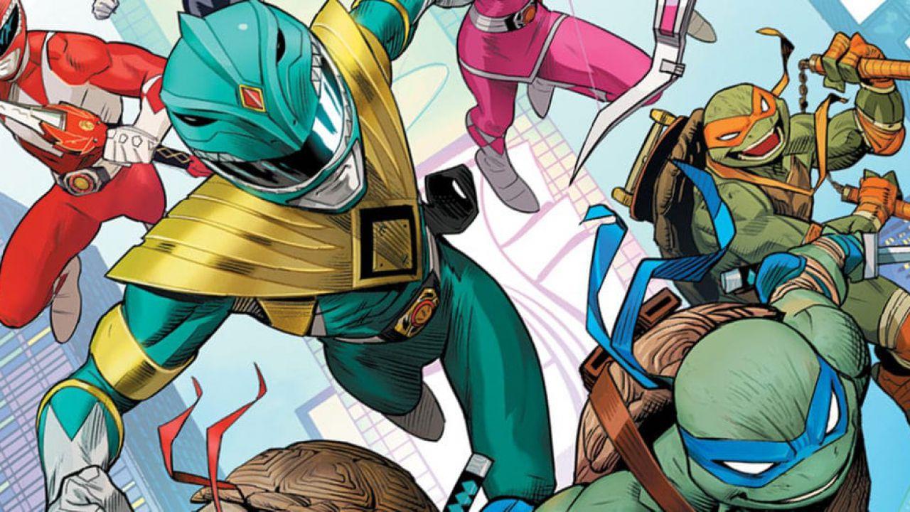 È disponibile da oggi il crossover TMNT/Power Rangers, l'autore: 'Abbiamo dato il massimo'
