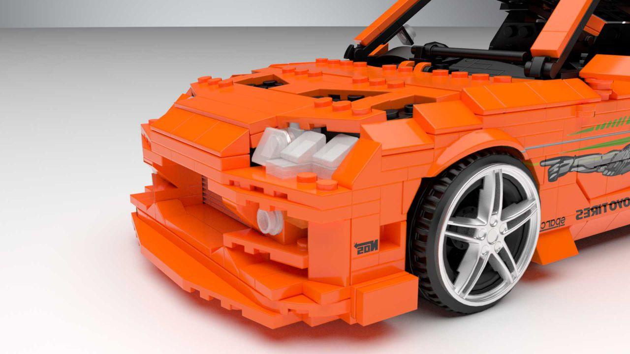 E' possibile una Toyota Supra Fast and Furious by LEGO? Forse sì