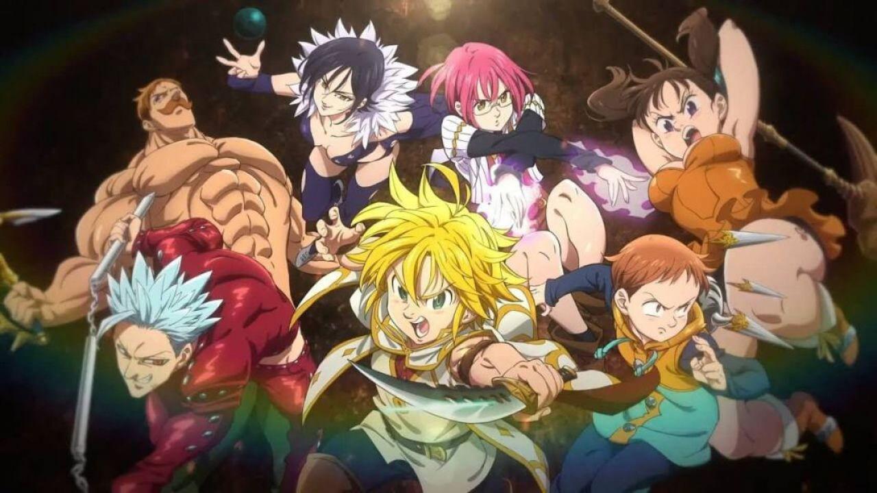 È ufficiale: l'anime di The Seven Deadly Sins si rinnova per una quarta stagione