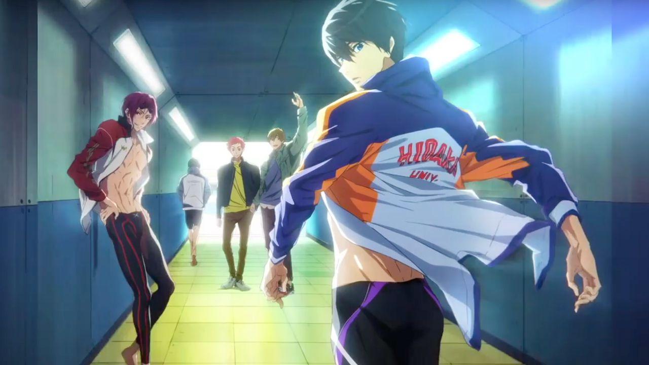 È ufficiale: il sequel di Free! Dive to the Future esordirà in Giappone nel 2020