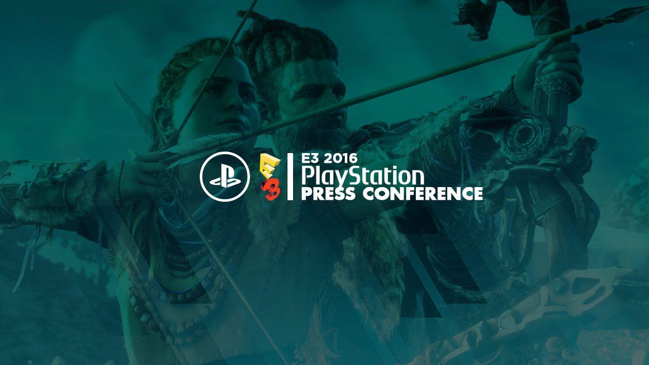 E3 2016: conferenza Sony commentata in diretta su Twitch - Replica Live 14 giugno 2016