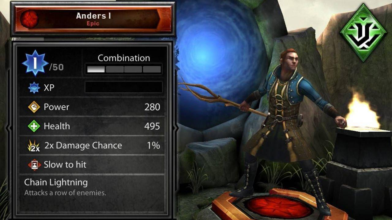 EA annuncia Heroes of Dragon Age