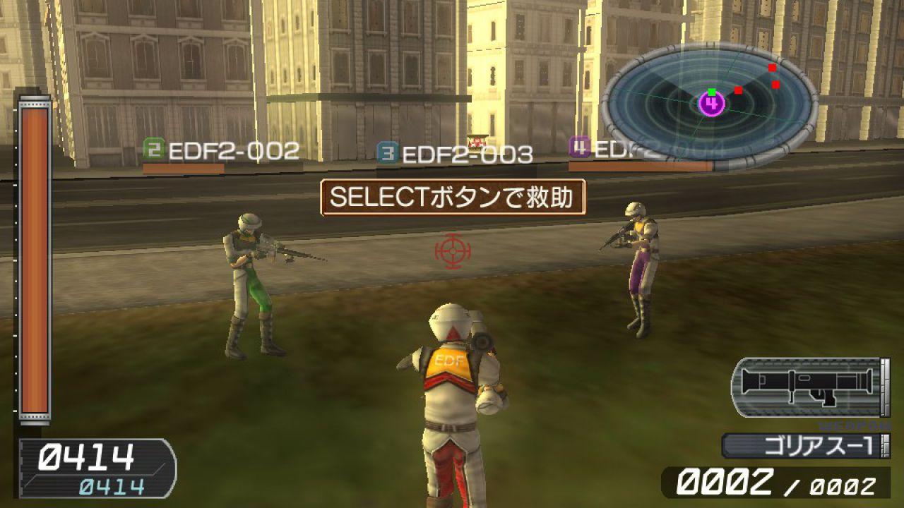 Earth Defense Force V2 annunciato per PlayStation Vita