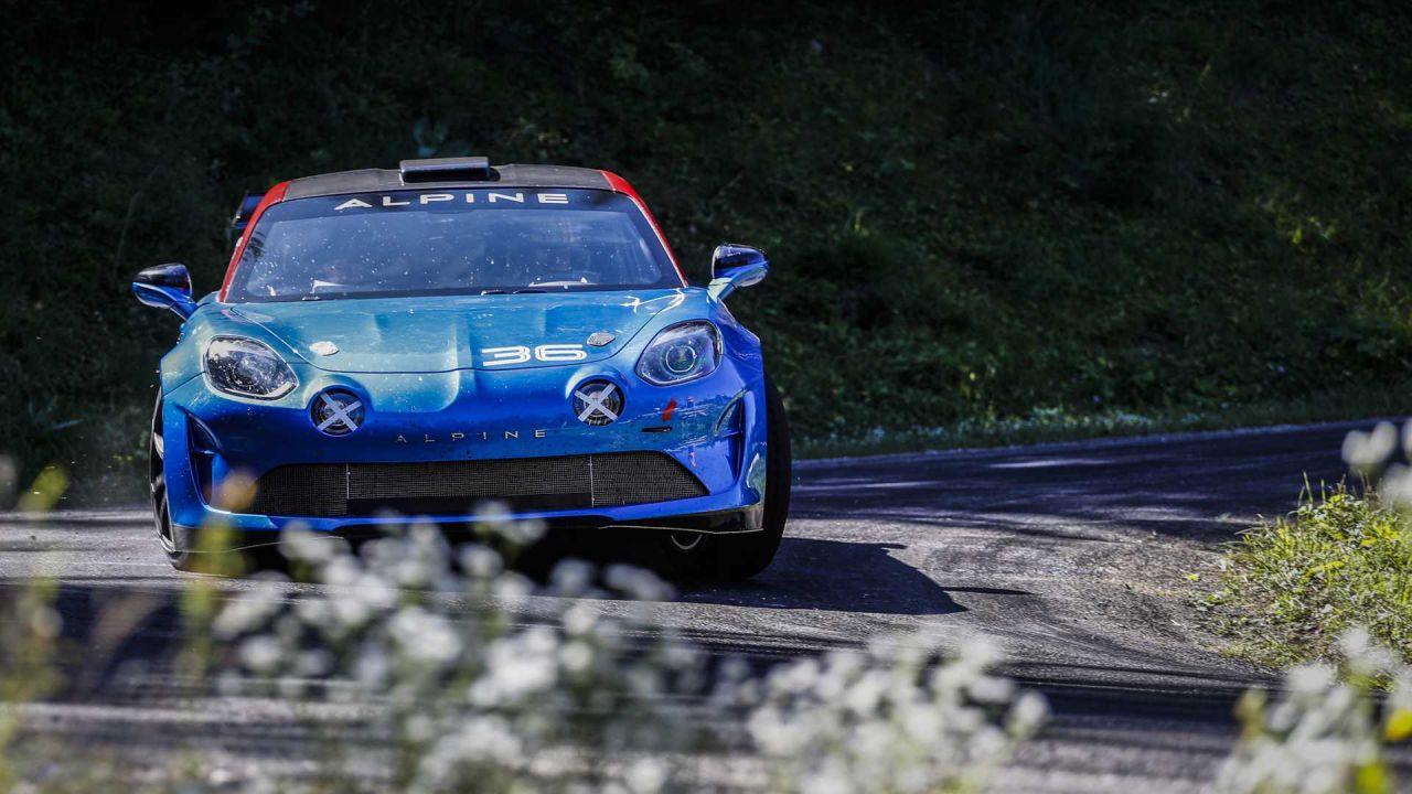 Ecco la Alpine A110 Rally, il marchio francese ritorna a correre nelle gare