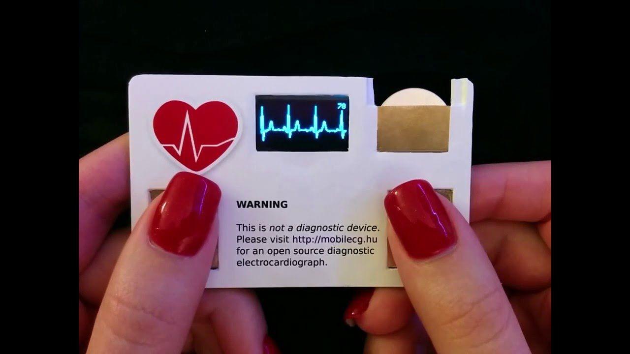 Preferenza Ecco i biglietti da visita con elettrocardiogramma incorporato XT67