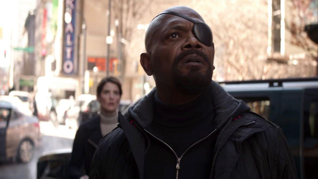 Ecco chi stava realmente contattando Nick Fury alla fine di Avengers: Infinity War