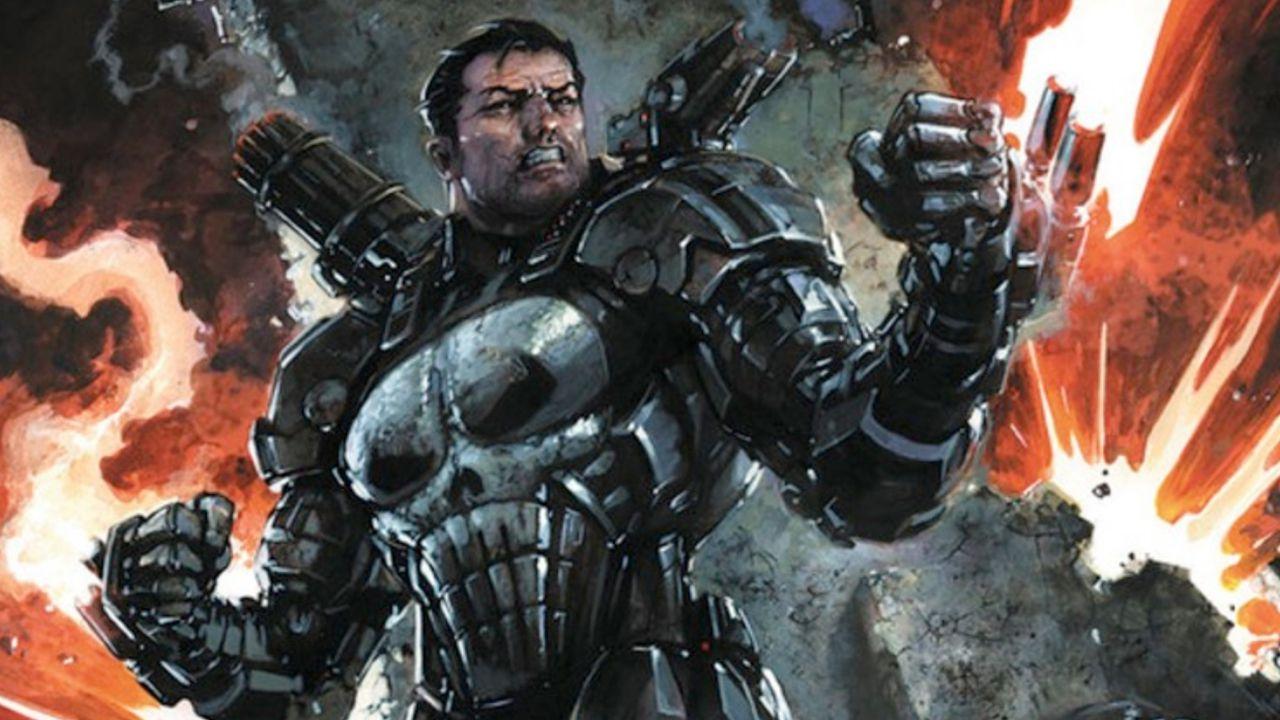 Ecco come Frank Castle aka 'Il Punitore' ha personalizzato l'armatura di War Machine!