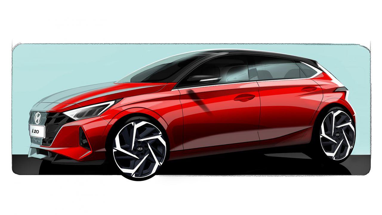 Ecco come sarà la nuova Hyundai i20 2020: appuntamento a Ginevra