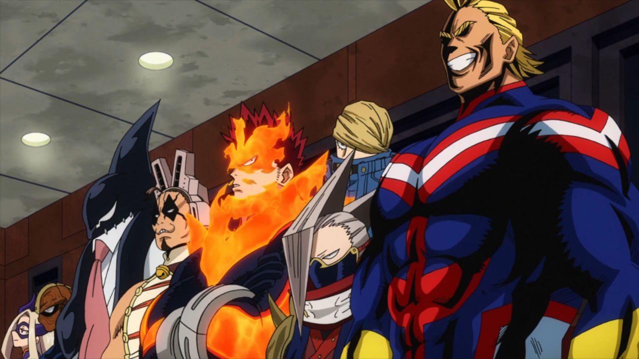 Ecco gli eroi più forti: scopriamo la top 10 di My Hero Academia 4x24