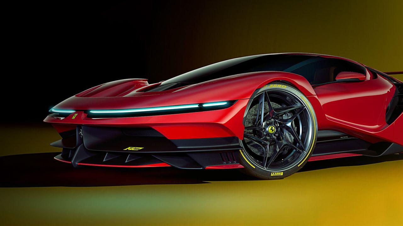 Ecco la Ferrari F42, un bolide estremo che si esprime tramite i render