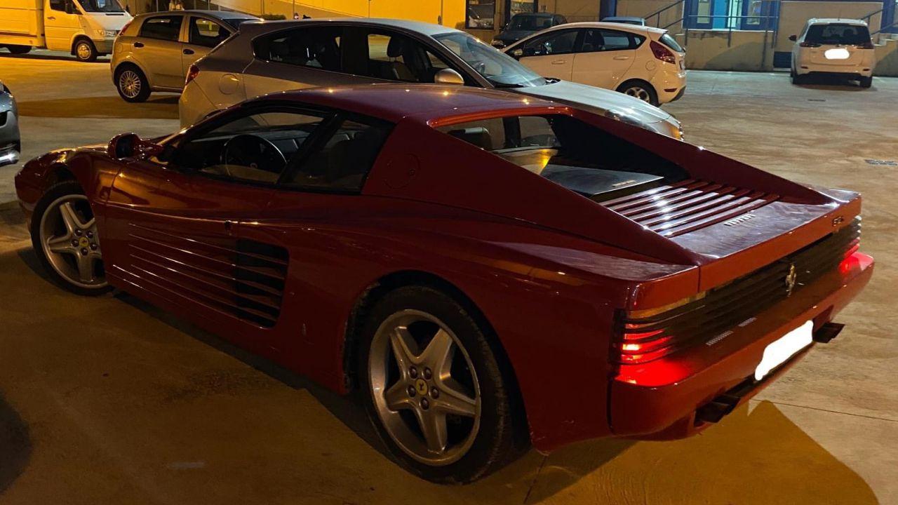Ecco la Ferrari Testarossa rubata a Bari a ottobre: è stata ritrovata