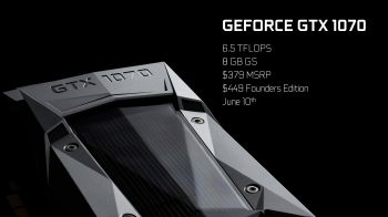 Ecco i primi benchmark di NVIDIA GeForce GTX 1070