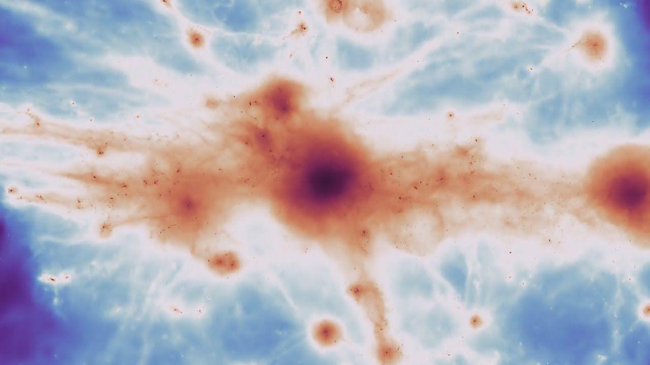 Ecco la prima immagine della rete cosmica che attraversa l'intero Universo