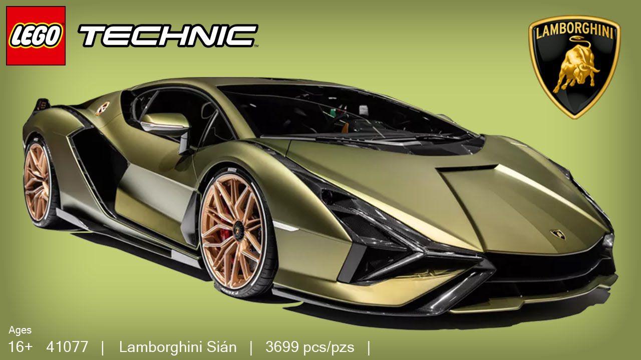 Ecco la prima Lamborghini LEGO Technic: è la nuovissima Sian!