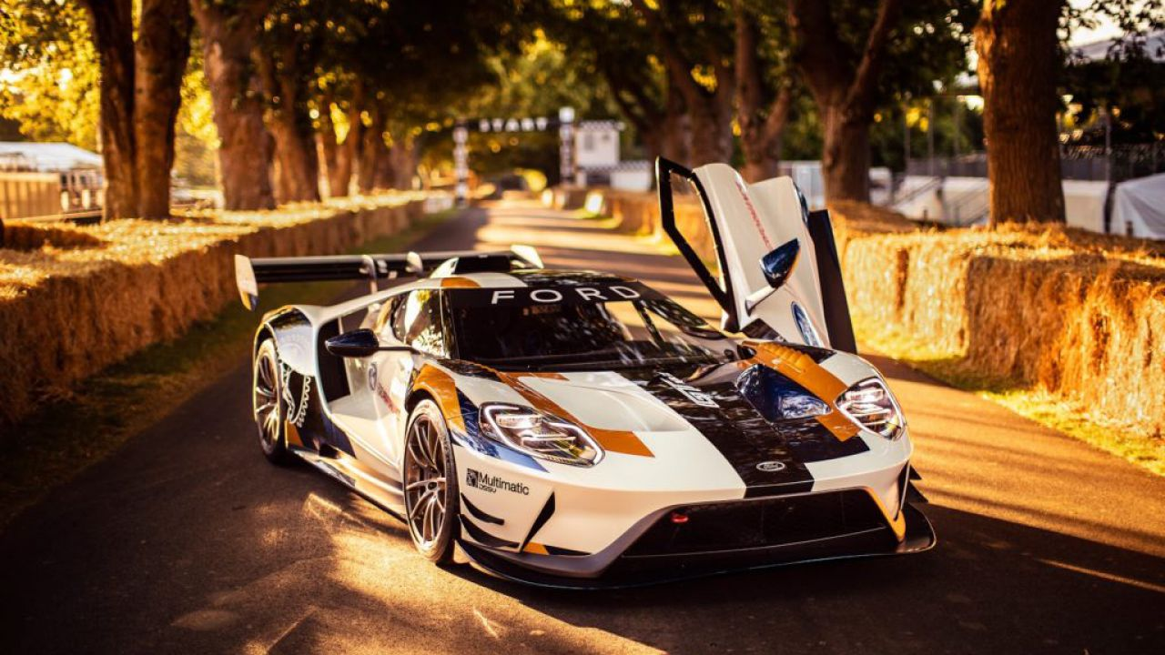 Ecco la nuova Ford GT MK II al Goodwood Festival of Speed