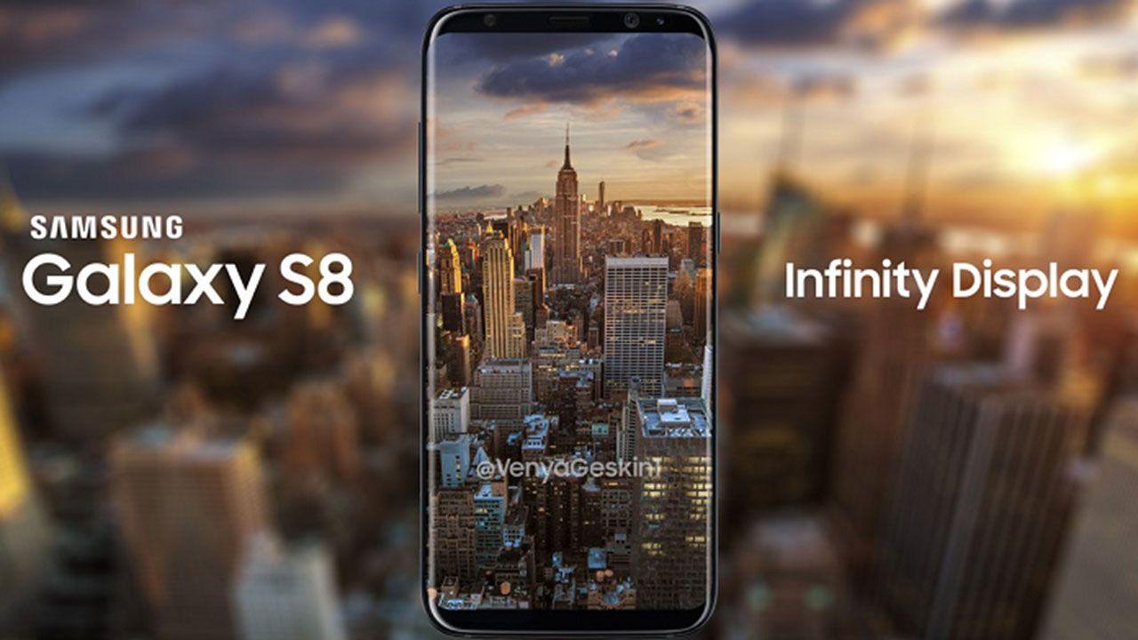 Ecco il nuovo Galaxy S8 in una foto promozionale ufficiale di Samsung