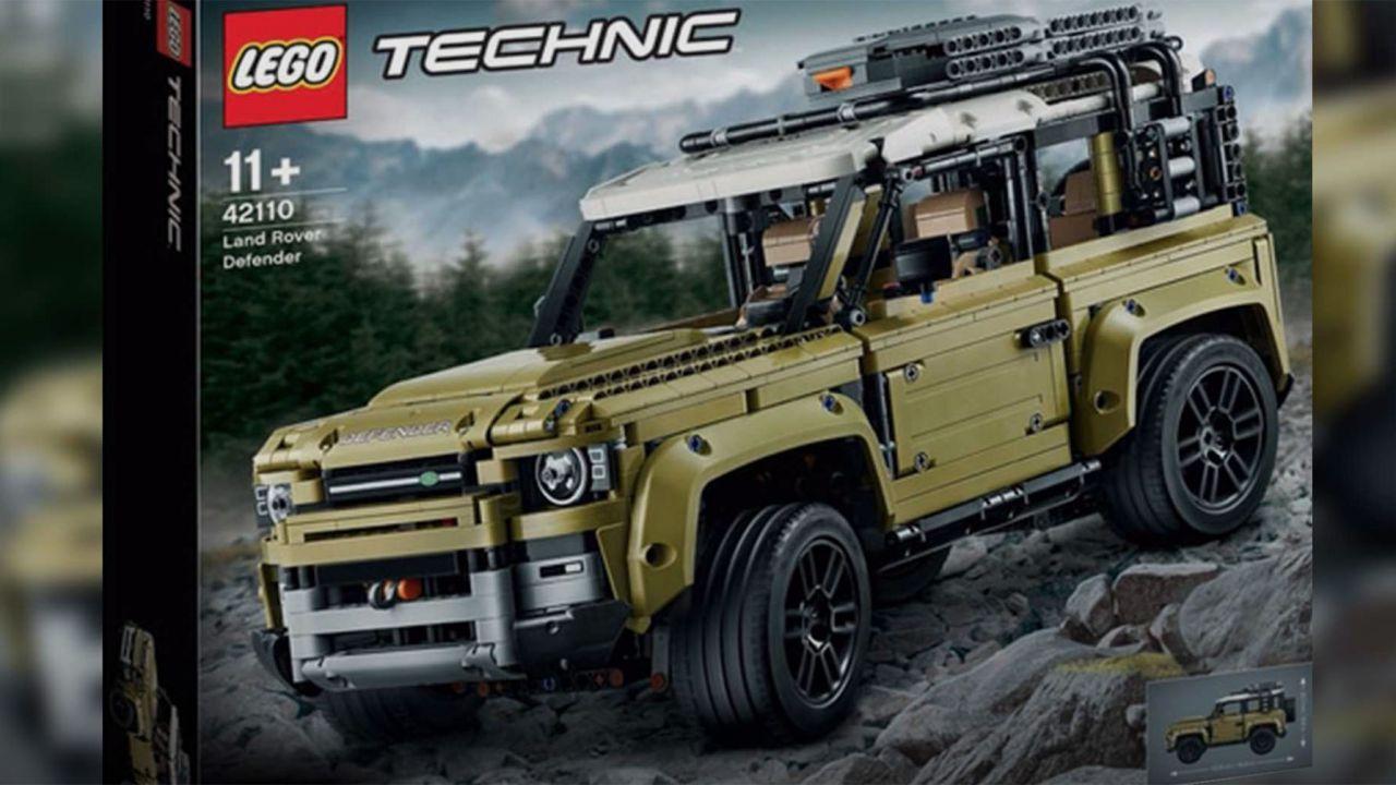 Ecco il nuovo Land Rover Defender LEGO Technic: è questa la Next Gen?