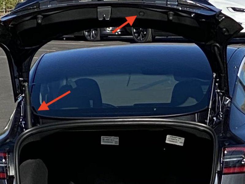 Ecco la Tesla Model 3 aggiornata: i dettagli sul bagagliaio
